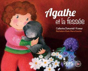 Couverture d'ouvrage: Agathe et la fessée de Dumonteil-Kremer, Catherine